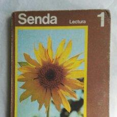 Libros de segunda mano: SENDA 1 LECTURA EGB EDUCACIÓN SANTILLANA 1973. Lote 176147634