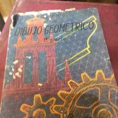 Libros de segunda mano: DIBUJO GEOMETRICO - PEREZ LOZAO. Lote 176237464