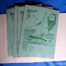 Libros de segunda mano: 6 CUADERNOS DE LA EDITORIAL EDELVIVES SIN USAR.. Lote 176269343