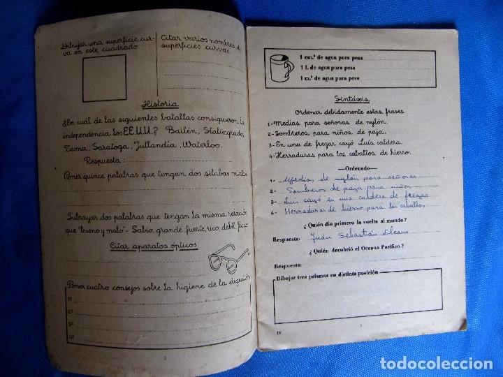 Libros de segunda mano: CUADERNO DE EJERCICIOS DE VERANO 4. EZEQUIEL JANÉ. EDITORIAL MIGUEL A. SALVATELLA, SIN FECHA. - Foto 2 - 176274844