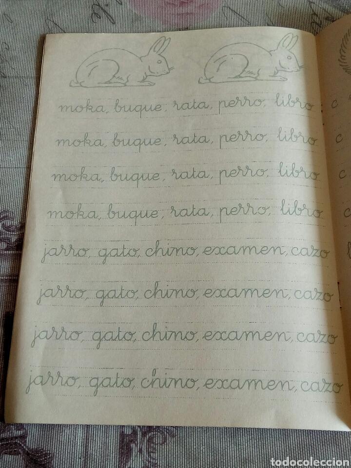 Libros de segunda mano: CUARDENO ESCOLAR SALVATELLA AÑO 59-CALCO VERTICAL 3 - Foto 3 - 176275368