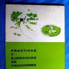 Libros de segunda mano: CUADERNO DE PRÁCTICAS Y EJERCICIOS DE VACACIONES. 2 PRIMARIA. EDITORIAL TEIDE, 1970.. Lote 176294547