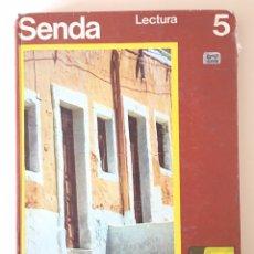 Libros de segunda mano: SENDA - LECTURA 5 - EDUCACIÓN SANTILLANA - EGB 1971 - LIBRO ESCUELA. Lote 176367288