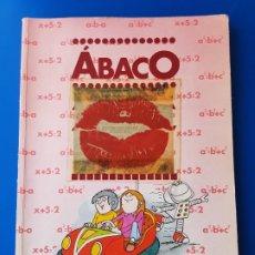 Libros de segunda mano: LIBRO DE MATEMATICAS 8 OCTAVO DE E.G.B./EGB - ABACO BARCANOVA-1984 (PEGATINAS DUBBLE BUBBLE PEGADAS). Lote 176438225
