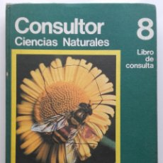 Libros de segunda mano: CONSULTOR 8. CIENCIAL NATURALES - 8º EGB - SANTILLANA - 1974. Lote 176493549