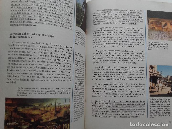 Libros de segunda mano: CONSULTOR 7. CIENCIAL SOCIALES - 7º EGB - SANTILLANA - 1973 - Foto 5 - 176493713