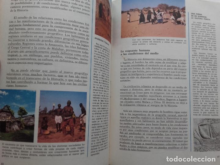 Libros de segunda mano: CONSULTOR 7. CIENCIAL SOCIALES - 7º EGB - SANTILLANA - 1973 - Foto 6 - 176493713