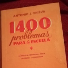 Libros de segunda mano: 1400 PROBLEMAS PARA LA ESCUELA. Lote 176699057