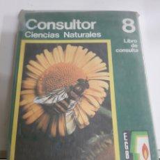 Libros de segunda mano: CONSULTOR CIENCIAS NATURALES 8 EGB SANTILLANA. Lote 176806463