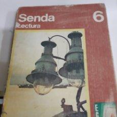 Libros de segunda mano: SENDA LECTURA 6 EGB SANTILLANA. Lote 176806857