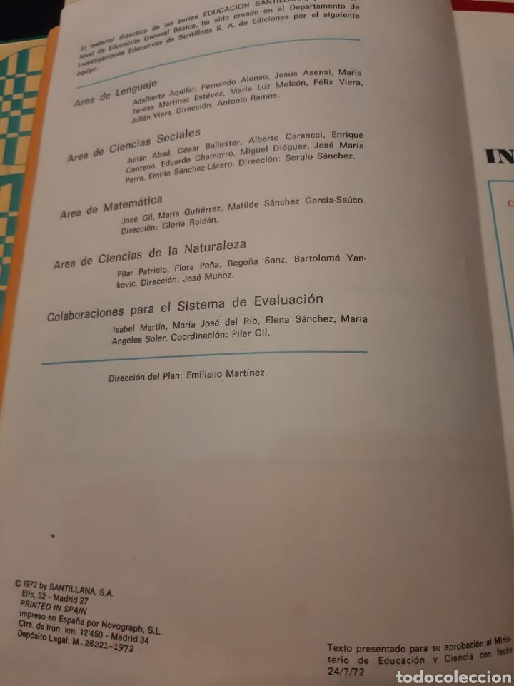 Libros de segunda mano: Consultor ciencias Naturales 6 egb Santillana 1972 - Foto 3 - 176966195