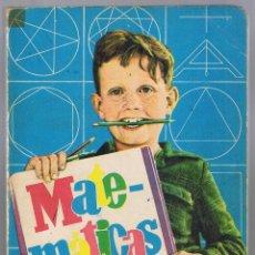 Libros de segunda mano: LIBRO DE TEXTO MATEMÁTICAS 3ª CURSO DE BACHILLERATO EDICIONES SM. 1964. Lote 177043730