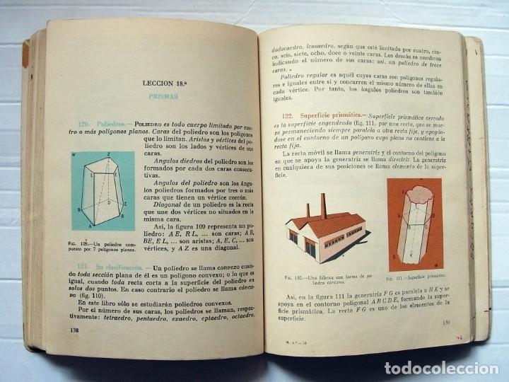 Libros de segunda mano: Libro de texto Matemáticas 4ª curso de Bachillerato Ediciones SM. 1964 - Foto 2 - 177043899