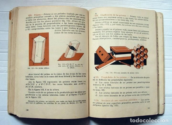 Libros de segunda mano: Libro de texto Matemáticas 4ª curso de Bachillerato Ediciones SM. 1964 - Foto 3 - 177043899