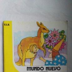 Libros de segunda mano: MUNDO NUEVO 2 EGB ANAYA LIBRO DE TRABAJO. Lote 177079407
