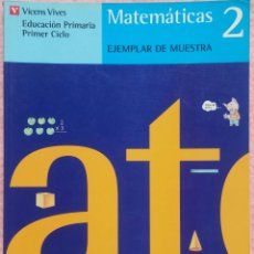 Libros de segunda mano: 2º PRIMARIA, MATEMÁTICAS, VICENS VIVES, 1992 /// LENGUA LECTURAS CONOCIMIENTO MEDIO MÚSICA PLÁSTICA. Lote 177288330
