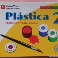 Libros de segunda mano: 2º PRIMARIA, EDUCACIÓN ARTÍSTICA, PLÁSTICA, MUNDO DE COLORES, VICENS VIVES, 2007 /// MÚSICA LENGUA. Lote 177289713