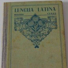 Libros de segunda mano: LENGUA LATINA SEGUNDO CURSO . EDITORIAL EDELVIVES - ZARAGOZA 1949. Lote 177333282