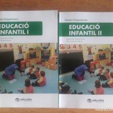 Libros de segunda mano: EDUCACIO INFANTIL I Y II / TEMARI D'OPOSICIONS / FORNET Y SILVESTRE / 1ª EDICION 2018 / EN CATALÁN. Lote 177450302
