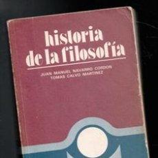 Libros de segunda mano: HISTORIA DE LA FILOSOFÍA. COU.. Lote 177761548