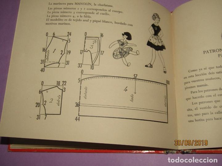 Libros de segunda mano: Antiguo Libro EN LA CLASE DE COSTURA Método Infantil de Corte y Confección del Año 1956 - Foto 6 - 177944028