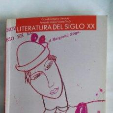 Libros de segunda mano: LITERATURA DEL SIGLO XX COU ANAYA. Lote 177967177