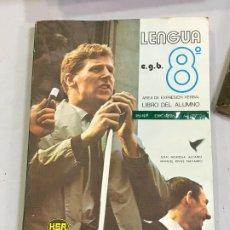Libros de segunda mano: LENGUA 8 EGB HSR LIBRO TEXTO. Lote 178044858