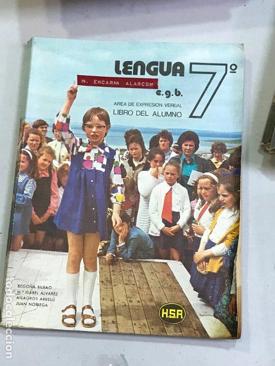 LENGUA 7 EGB HSR LIBRO TEXTO (Libros de Segunda Mano - Libros de Texto )
