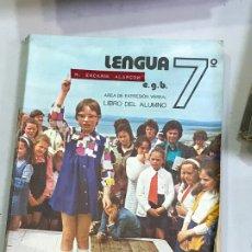 Libros de segunda mano: LENGUA 7 EGB HSR LIBRO TEXTO. Lote 178044945