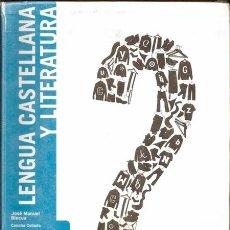 Libros de segunda mano: LENGUA CASTELLANA Y LITERATURA 2 ESO / PROYECTO ENLACE - SM | ISBN 9788467527483. Lote 54046014