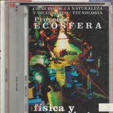 Libros de segunda mano: FISICA Y QUIMICA 1 BACHILLERATO.PROYECTO ECOSFERA.. Lote 178588240