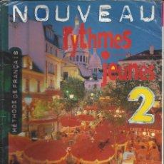 Libros de segunda mano: NOUVEAU RYTHMES JEUNES 2. METODO DE FRANCES. Lote 178596327