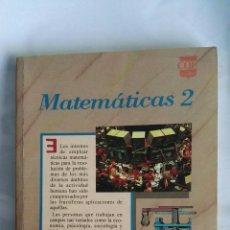 Libros de segunda mano: MATEMÁTICAS 2 COU BRUÑO. Lote 178598205