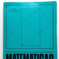 Libros de segunda mano: MATEMATICAS COMUNES COU - ED. MAGISTERIO ESPAÑOL - 1976. Lote 178670933