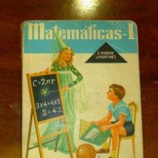 Libros de segunda mano: ARITMÉTICA Y GEOMETRÍA : PRIMER CURSO [MATEMÁTICAS I] / CONSTANTINO MARCOS, S.M... JACINTO MARTÍNEZ,. Lote 178864073