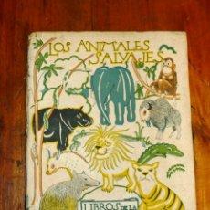 Libros de segunda mano: CABRERA, ÁNGEL. LOS ANIMALES SALVAJES (LIBROS DE LA NATURALEZA. PRIMERA SERIE). Lote 178936112