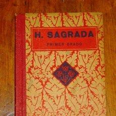 Libros de segunda mano: EDELVIVES. HISTORIA SAGRADA. PRIMER GRADO. Lote 178936631