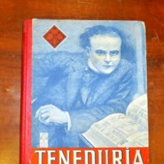 Libros de segunda mano: EDELVIVES. TENEDURÍA DE LIBROS POR PARTIDA DOBLE. PRIMER GRADO. Lote 178945138
