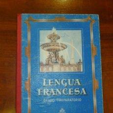 Libros de segunda mano: EDELVIVES. LENGUA FRANCESA. GRADO PREPARATORIO. Lote 178945346