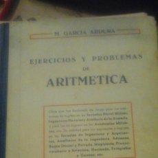 Libros de segunda mano: EJERCICIOS Y PROBLEMAS DE ARITMÉTICA (MADRID, 1959). Lote 178972653