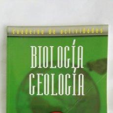 Libros de segunda mano: BIOLOGÍA GEOLOGÍA 4 ESO CUADERNO DE ACTIVIDADES ECIR. Lote 179001228