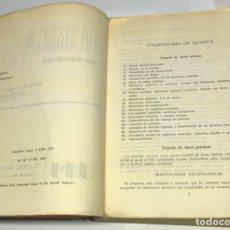 Libros de segunda mano: QUÍMICA, CURSO PREUNIVERSITARIO, ECIR. Lote 179102730