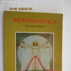 Libros de segunda mano: BIOESTADISTICA , NORMAN Y STREINER -1996. Lote 179338236