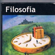 Libros de segunda mano: LIBRO DE TEXTO FILOSOFIA 1 GUADIEL BACHILLERATO . Lote 179957592