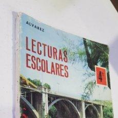 Libros de segunda mano: LECTURAS ESCOLARES 4 ÁLVAREZ MIÑÓN - TDK116. Lote 180070857