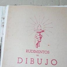 Libros de segunda mano: RUDIMENTOS DE DIBUJO PRIMERA PARTE. Lote 180231306