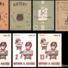 Libros de segunda mano: AMG-728 LOTE DE ANTIGUOS CUADERNOS ESCOLARES. Lote 180250761