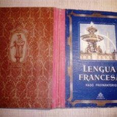 Libros de segunda mano: LENGUA FRANCESA PREPARATORIO EDELVIVES. 1957. Lote 180285183