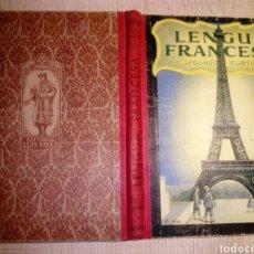Libros de segunda mano: LENGUA FRANCESA SEGUNDO CURSO. EDITORIAL EDELVIVES. 1959. Lote 180285441