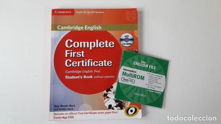 CAMBRIDGE ENGLISH. COMPLETE FIRST CERTIFICATE WITH CD-ROM (2 TOMOS) (Libros de Segunda Mano - Libros de Texto )